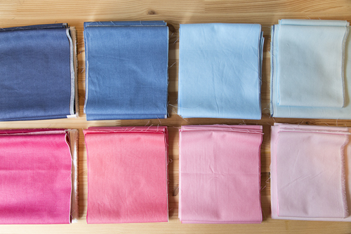 Week 1 :Fabric Requirements and Cutting Instructions -