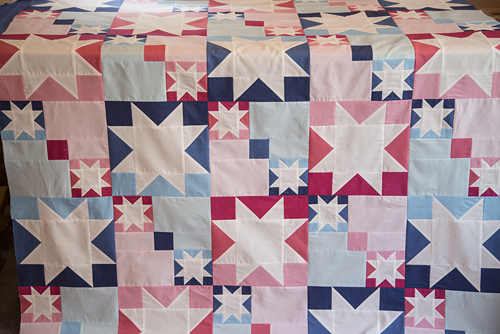 Week 3 : Quilt Top Assembly and Quilting -