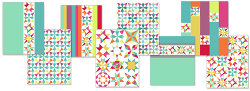 Quilt Top Layouts -