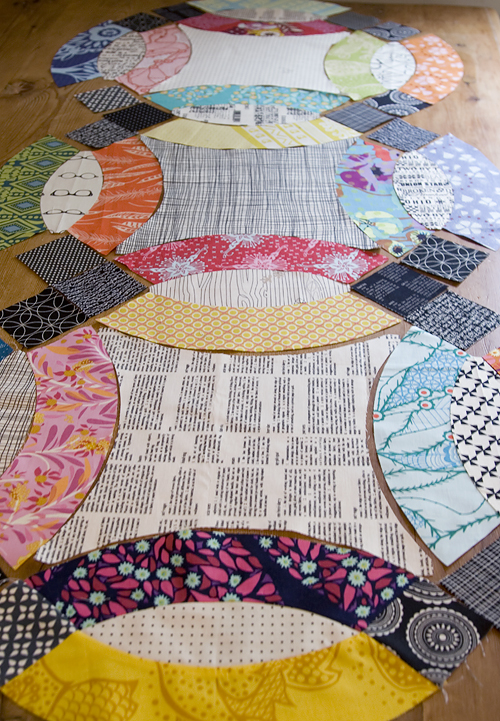 Double Wedding Ring Quilt Pattern.The Nyc Mqg Double Wedding Ring Quilt Challenge Fresh