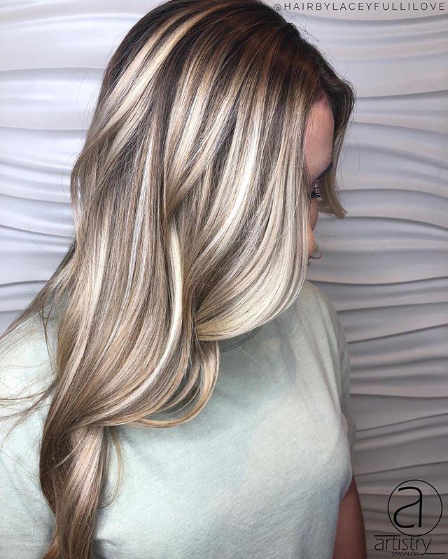 Double tap if all these blonde transformations are making you excited for Spring! 🌸 • • • #artistryspasalon #nashvillestylist #nashvillesalon #franklintnsalon #pureologylove #redkenready #nashvillemodel #hairbylaceyfullilove @hairbylaceyfullilove