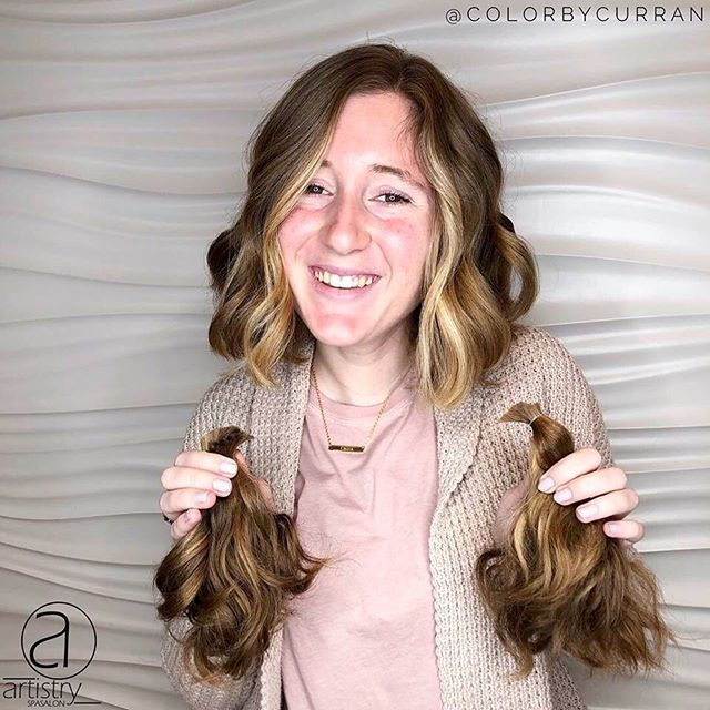 I don't know about you, but we're obsessed with this Spring Transformation by @colorbycurran ✂✂✂