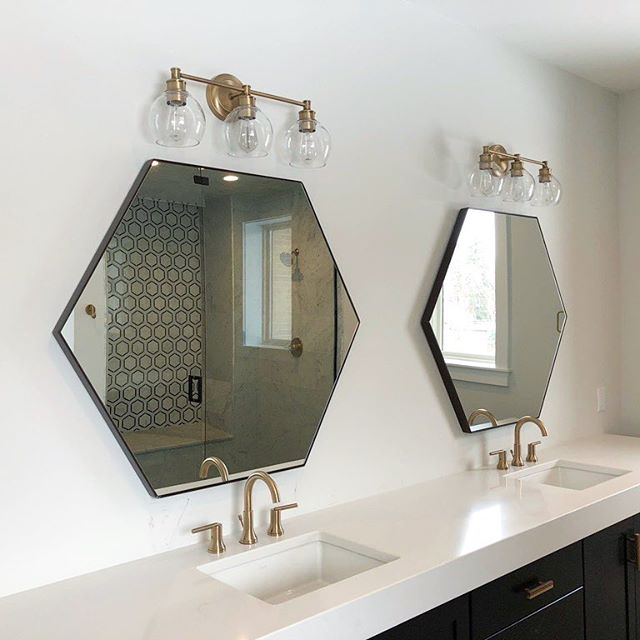 Completed work! #colorado #denver #decor #lighting #modernbathroom #modern #yourcoloradoelectricians #denver