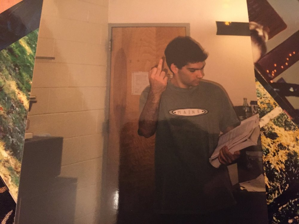 Working well with others at Mason Gross School of the Arts, 1999.