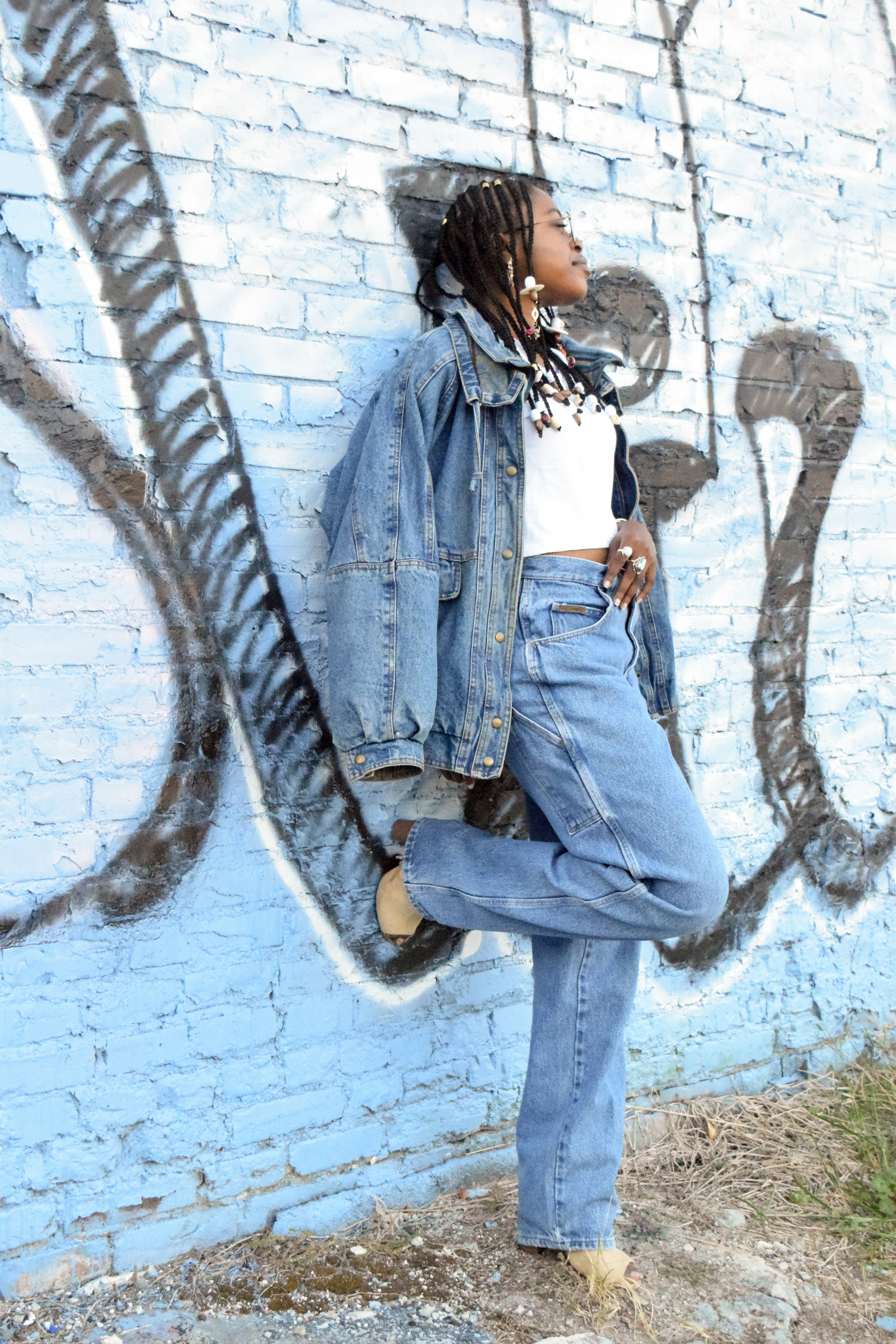 Denim Trend Outfit