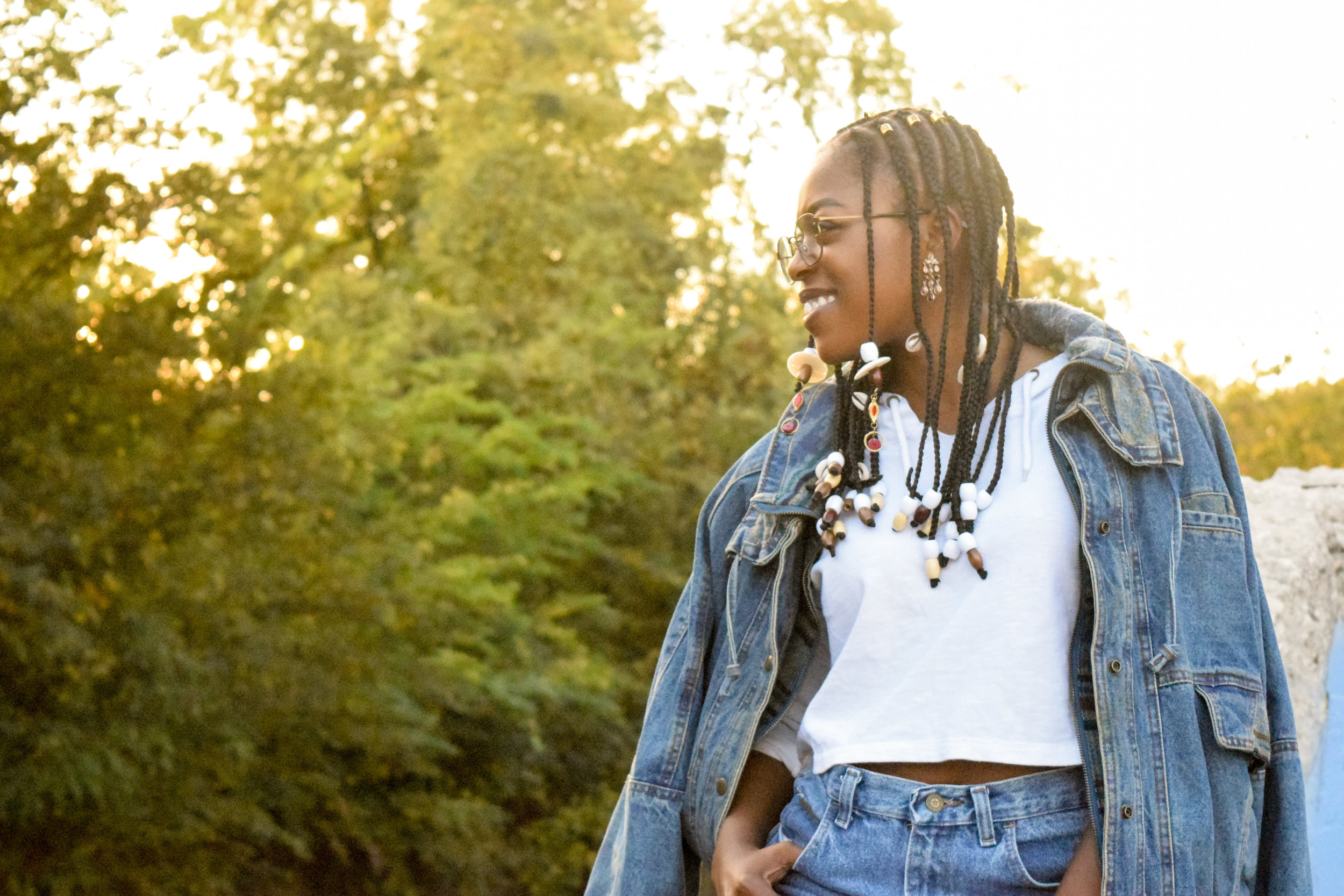 Fall Foliage, Denim Trend Outfit