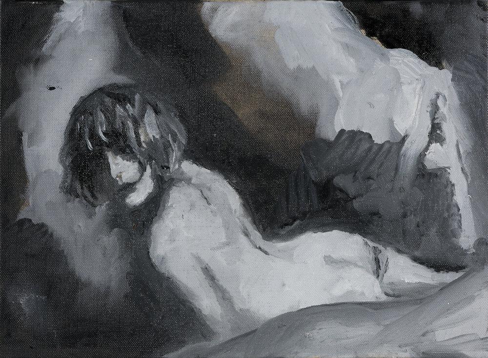 2015, Mélaina - Corycide (nymphe des grottes), 33 x 24 cm.jpg