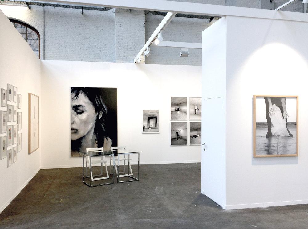 Art Brussels  gallery Les filles du calvaire, Bruxelles, Belgique