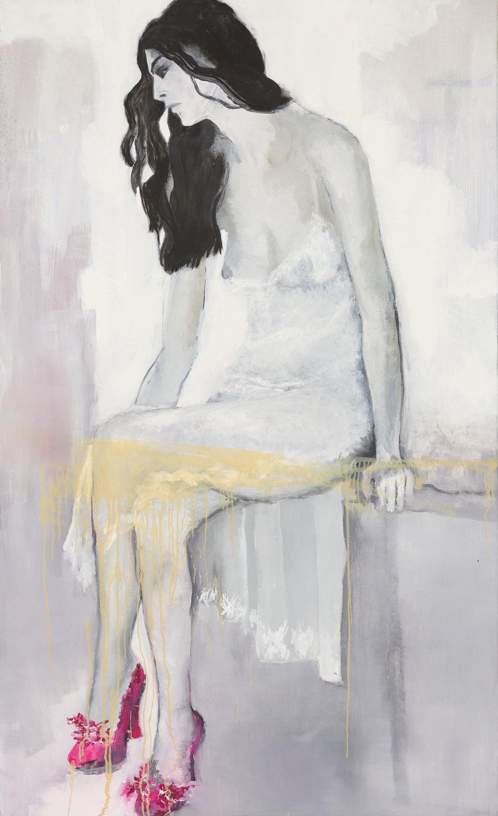 2012, Les chaussons roses, 150 x 90 cm.jpg