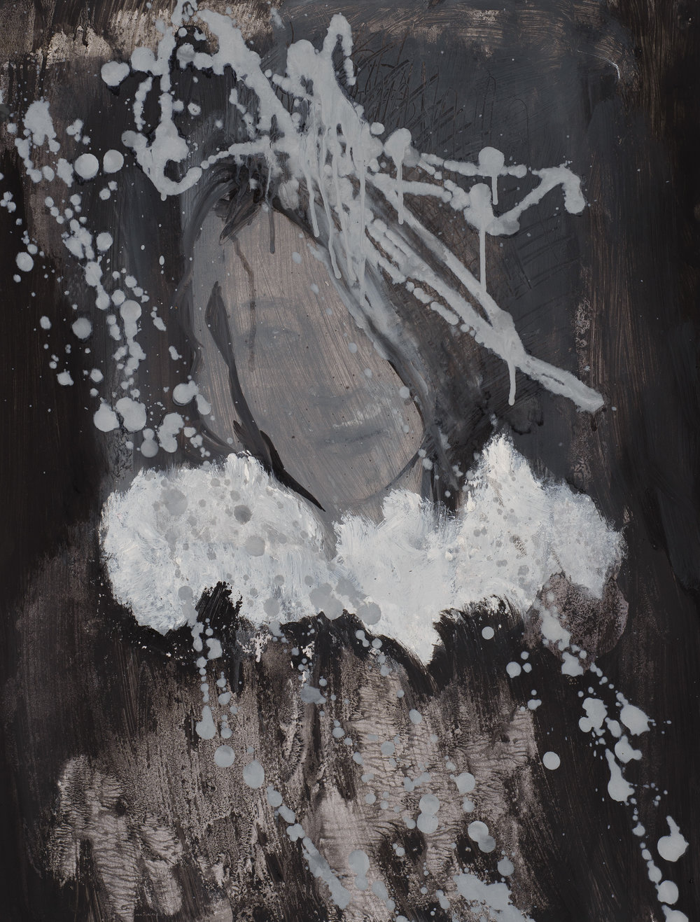 2016, Eros couronné de roses 6, 50 x 65 cm.jpg
