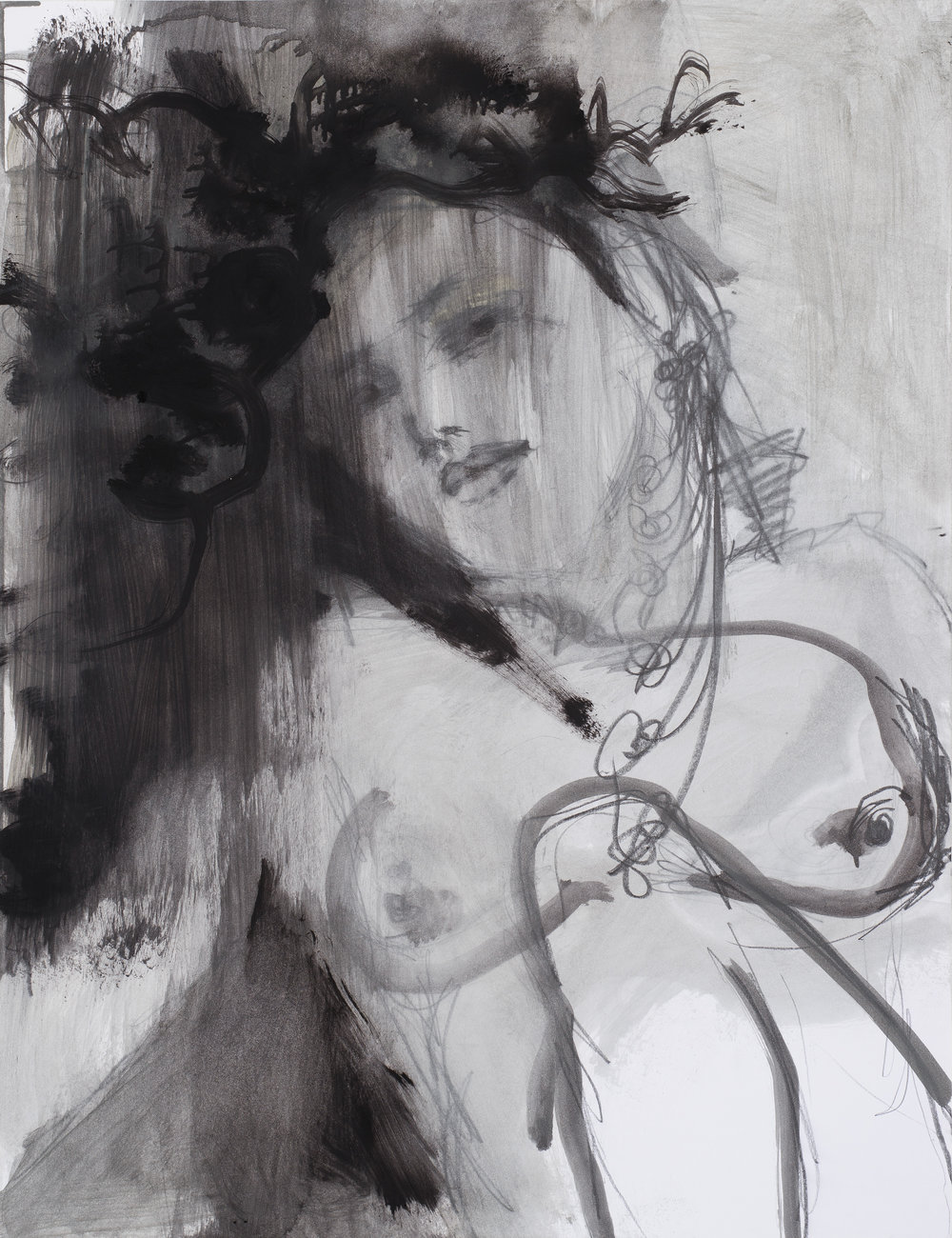 2016, Eros couronné de roses 8, 50 x 65 cm.jpg