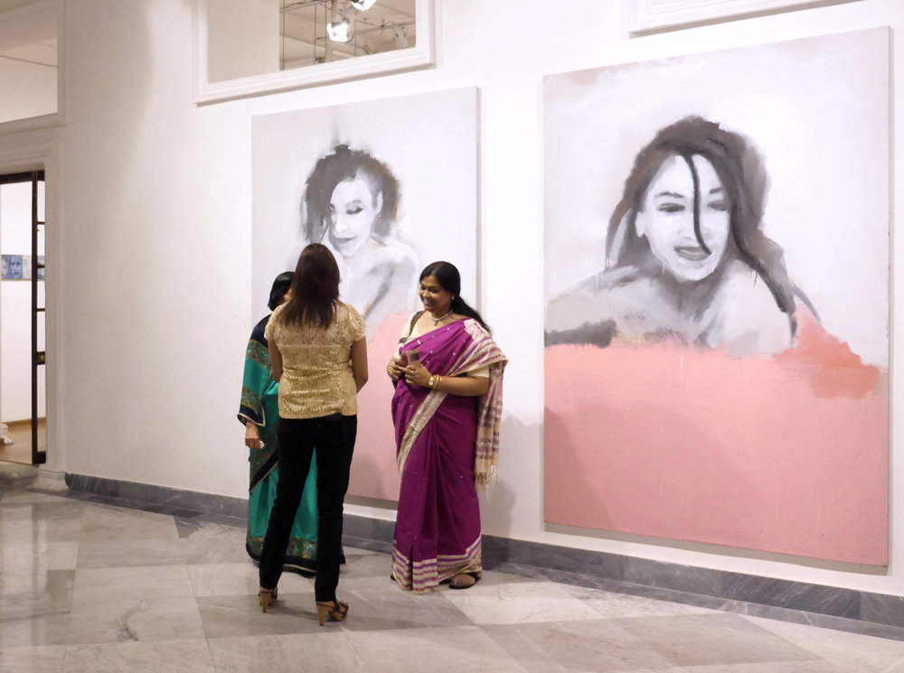 Face à Face  The Harrington Street Arts Center, Calcutta, India