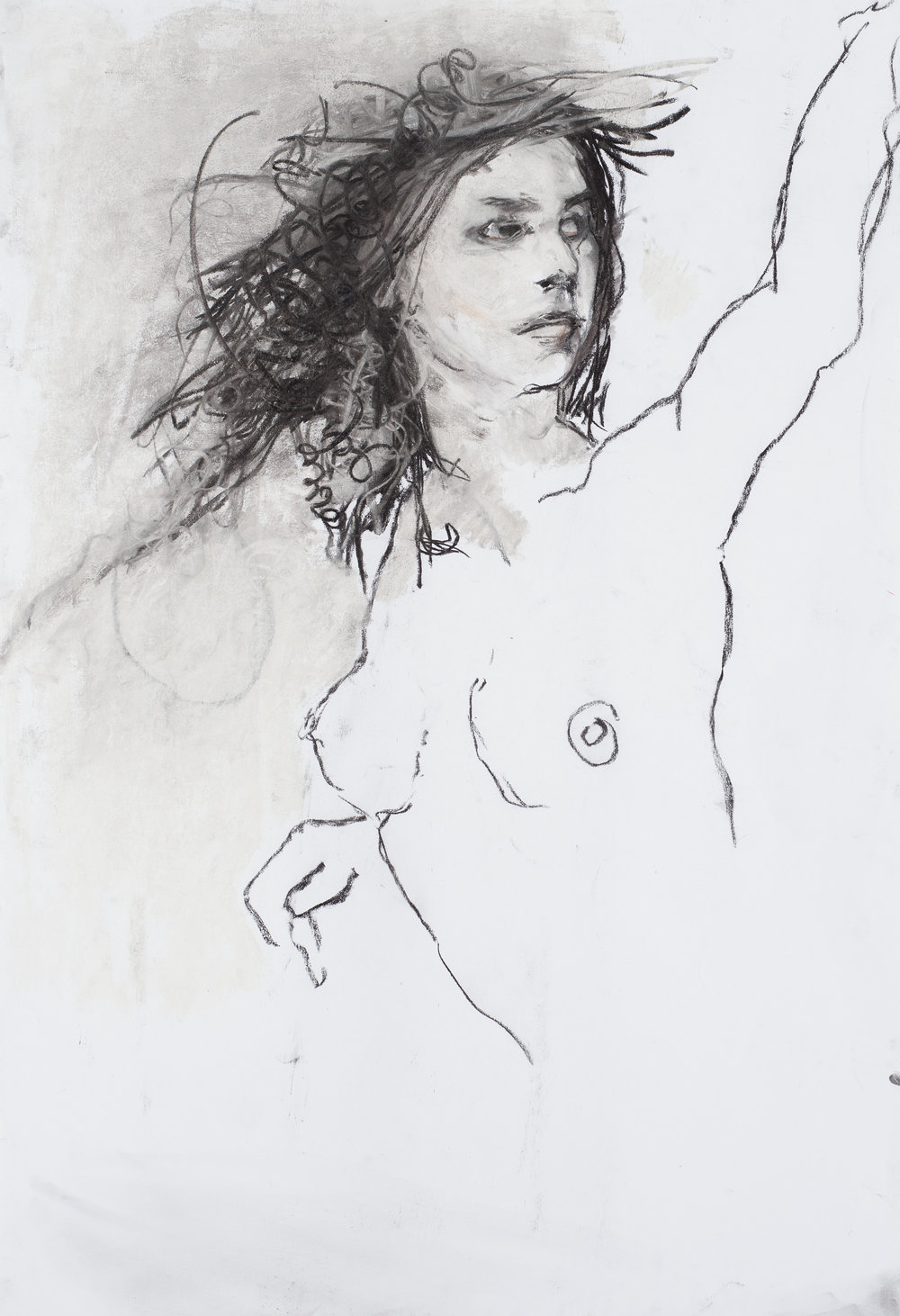 Eros couronné de roses 2 - 201675 x 110 cm