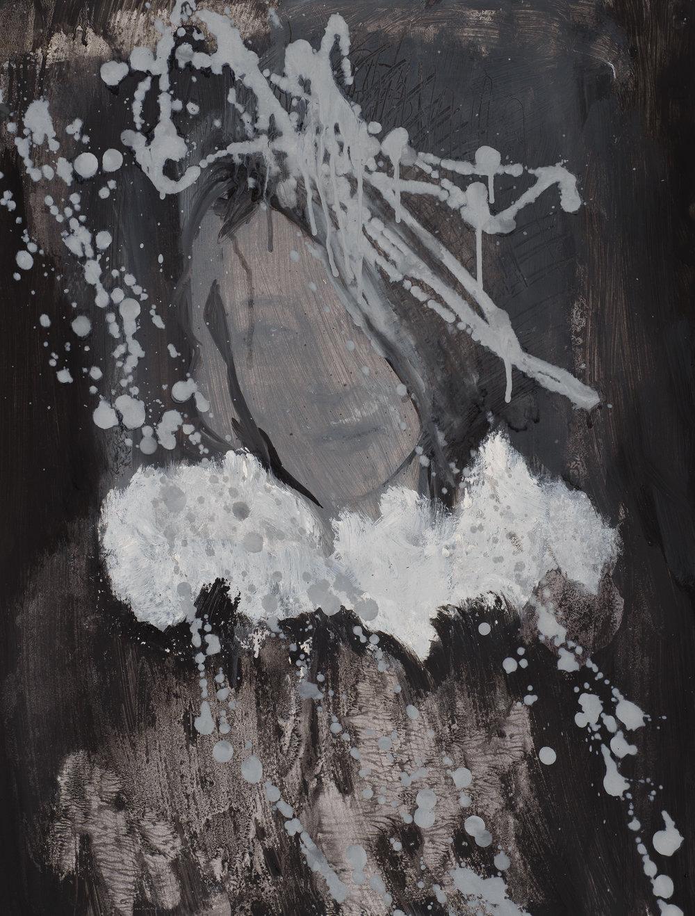 Eros couronné de roses 6 - 201650 x 65 cm