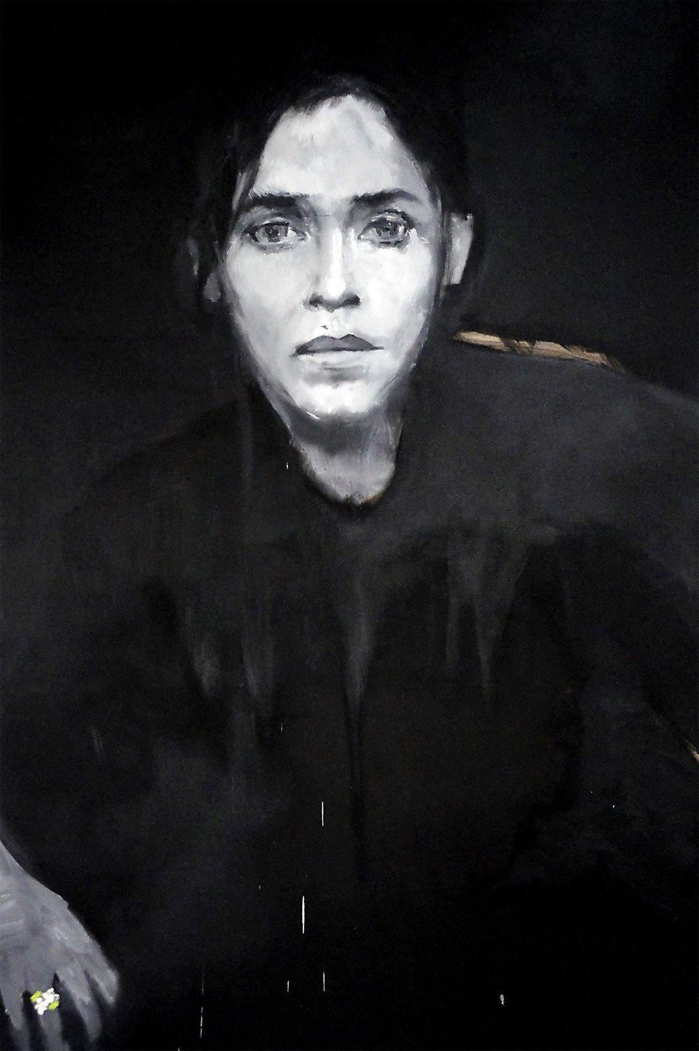 Elle le saisit par sa main blanc de lys - 20132030 x 150 cm