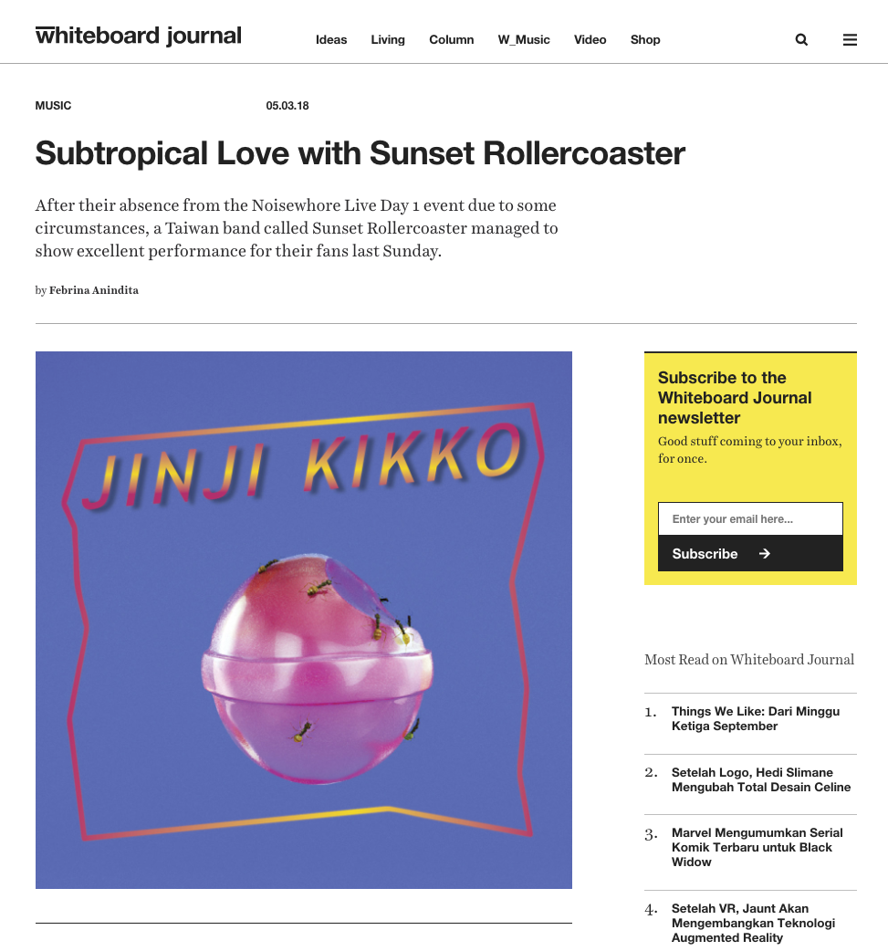 https://www.whiteboardjournal.com/ideas/subtropical-love-with-sunset-rollercoaster/