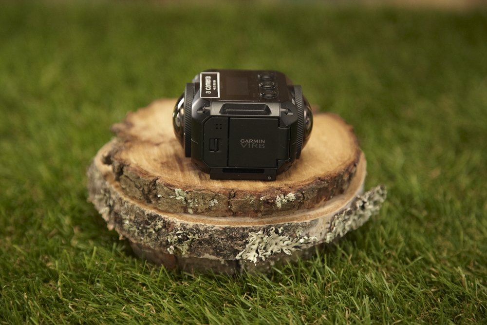 Garmin Virb 360   360 degree action camera.   Resolution:  5.7K unstitched - 4K stitched   Framerate:  Up to 60 Fps depending on resolution and codec selection.