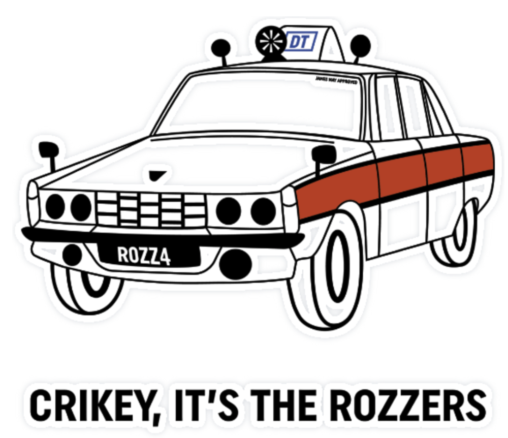 THE JAMES MAY COLLECTION - CRIKEY, IT'S THE ROZZERS
