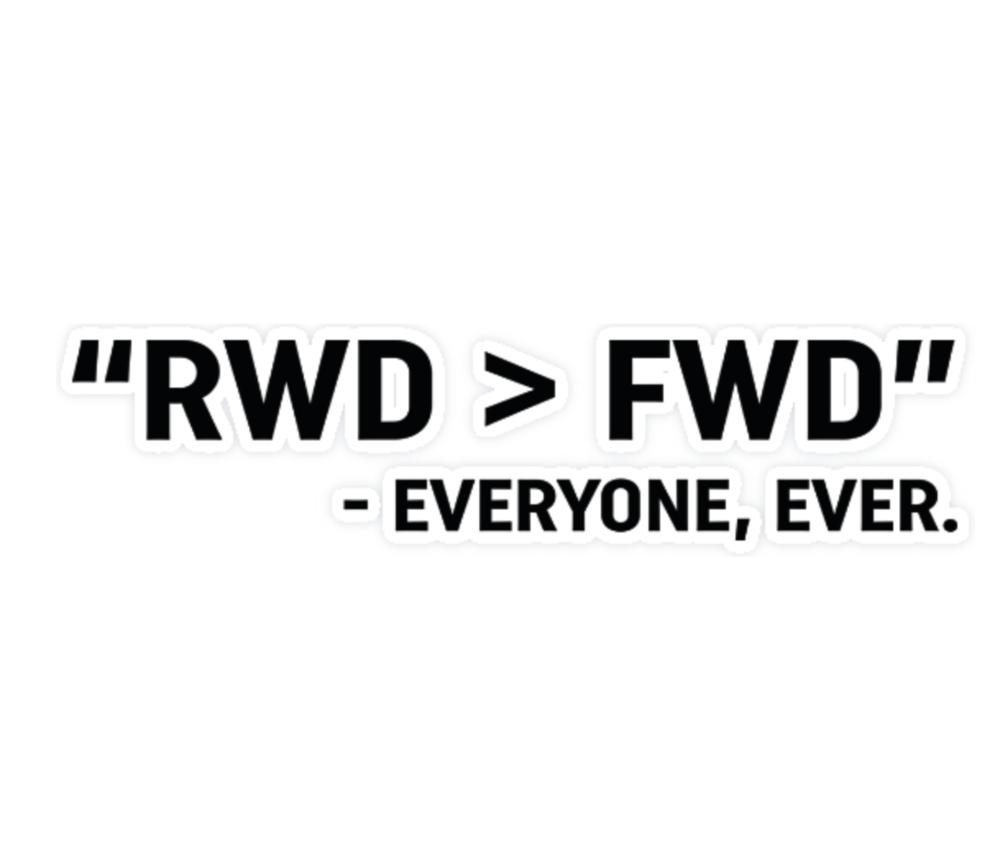 THE RICHARD HAMMOND COLLECTION - RWD > FWD