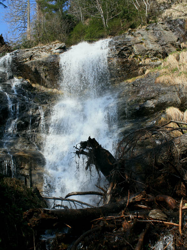 The waterfall from an other position