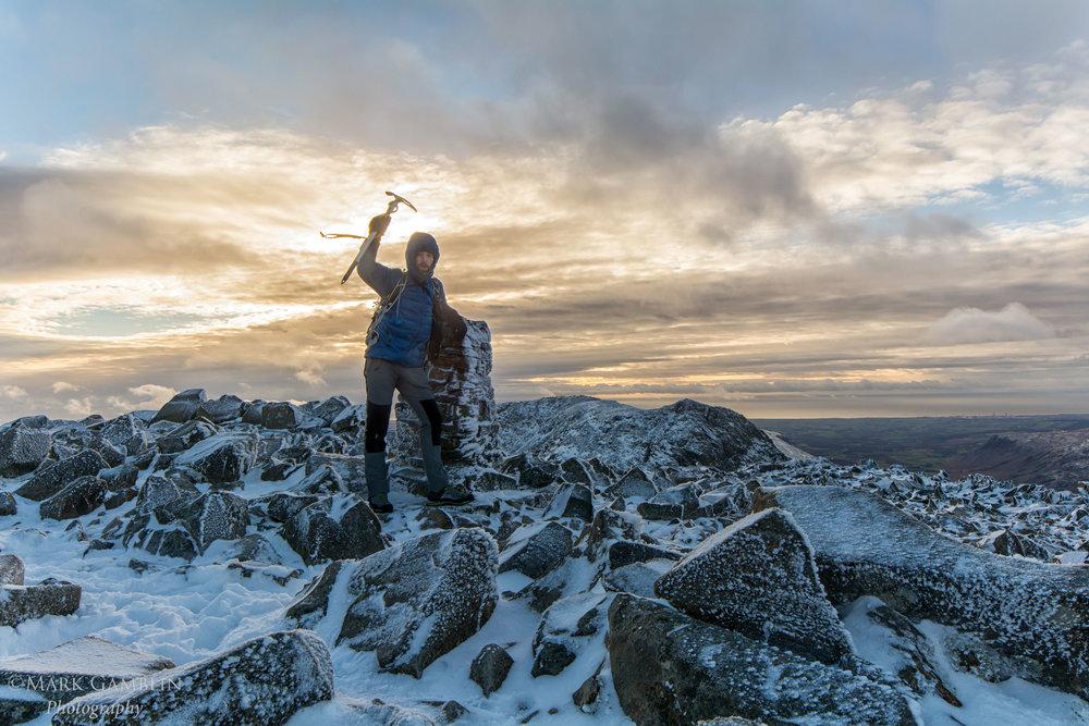 Mark Gamblin Scafell Pike Summit