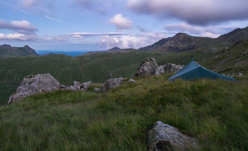 Glaramara Wild Camping Workshop - Starting from Seathwaite this workshop will take us up past Sty Head and Sprinkling Tarns, then on to Glaramara where we will camp for the night and enjoy some stunning Lakeland panoramic views.Price from £175