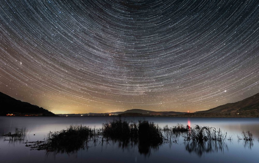 Bassenthwaite Star Trails