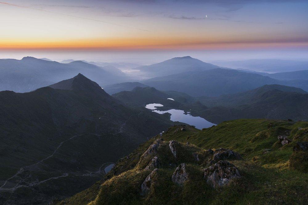 A Snowdonian Dawn