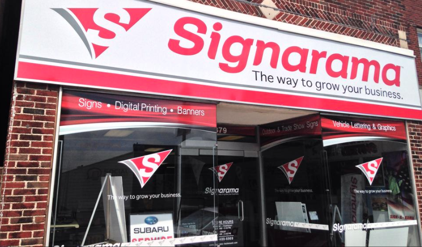 NEED A SIGN? - Check out our sign partner next door! Signarama.