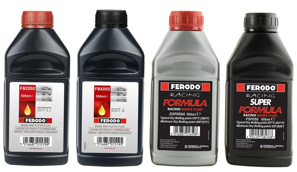 Ferodo racing brake fluids