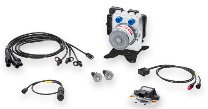 The new ABS M5 brake control kit is one of the most popular Bosch Motorsport products.