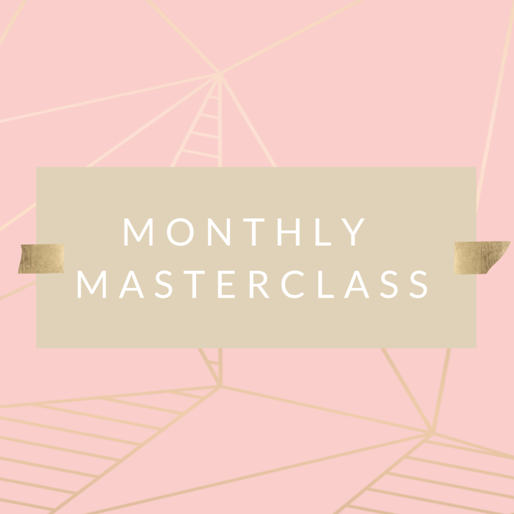 monthly masterclass