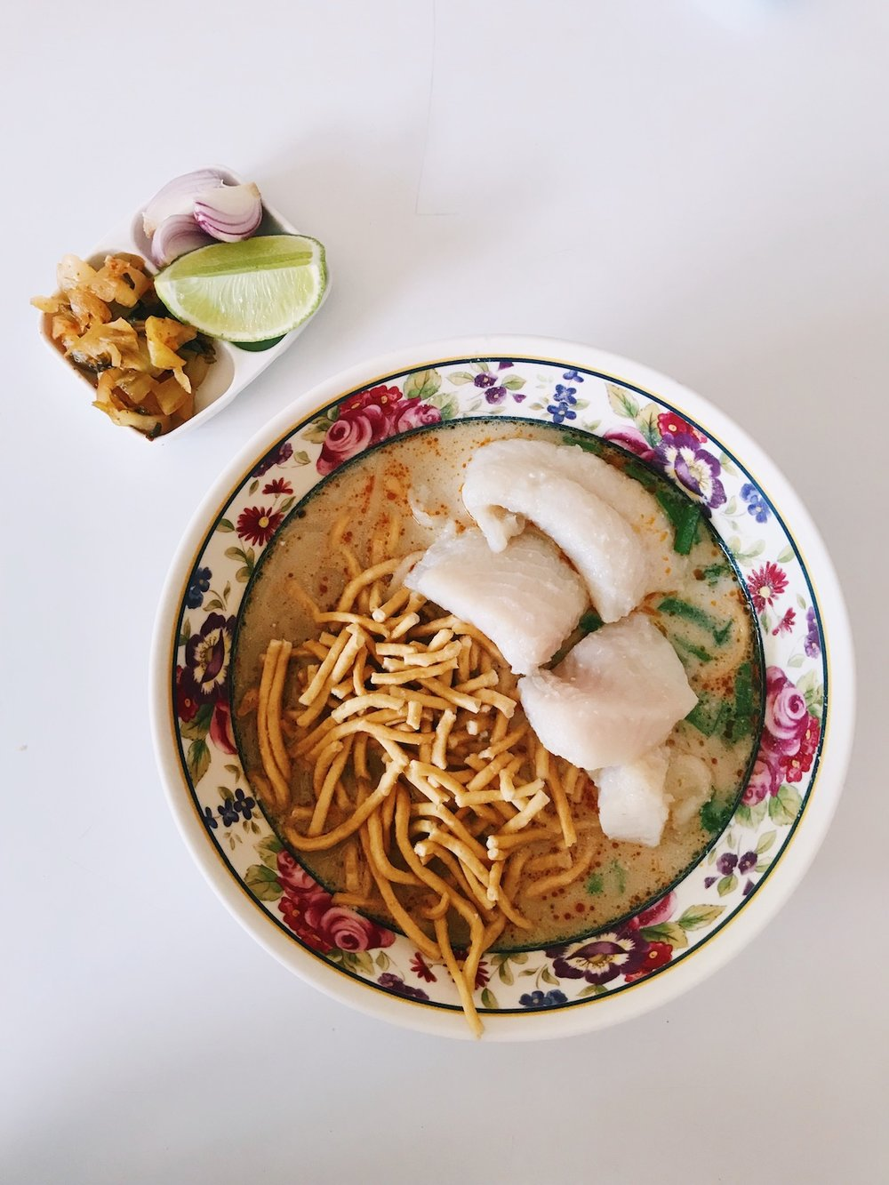 The Foodie Guide to Chiang Mai Thailand - Adventure Claire - Khao Soi Muslim Noodles - Claire Eliza
