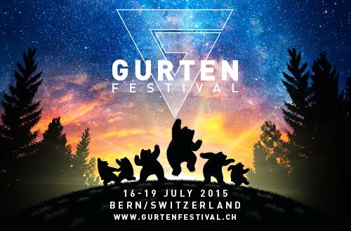 Unglaublich!! Wir eröffnen am Donnerstag 16. Juli die Waldbühne am Gurtenfestival in Bern!! Go and get your Ticket!!!