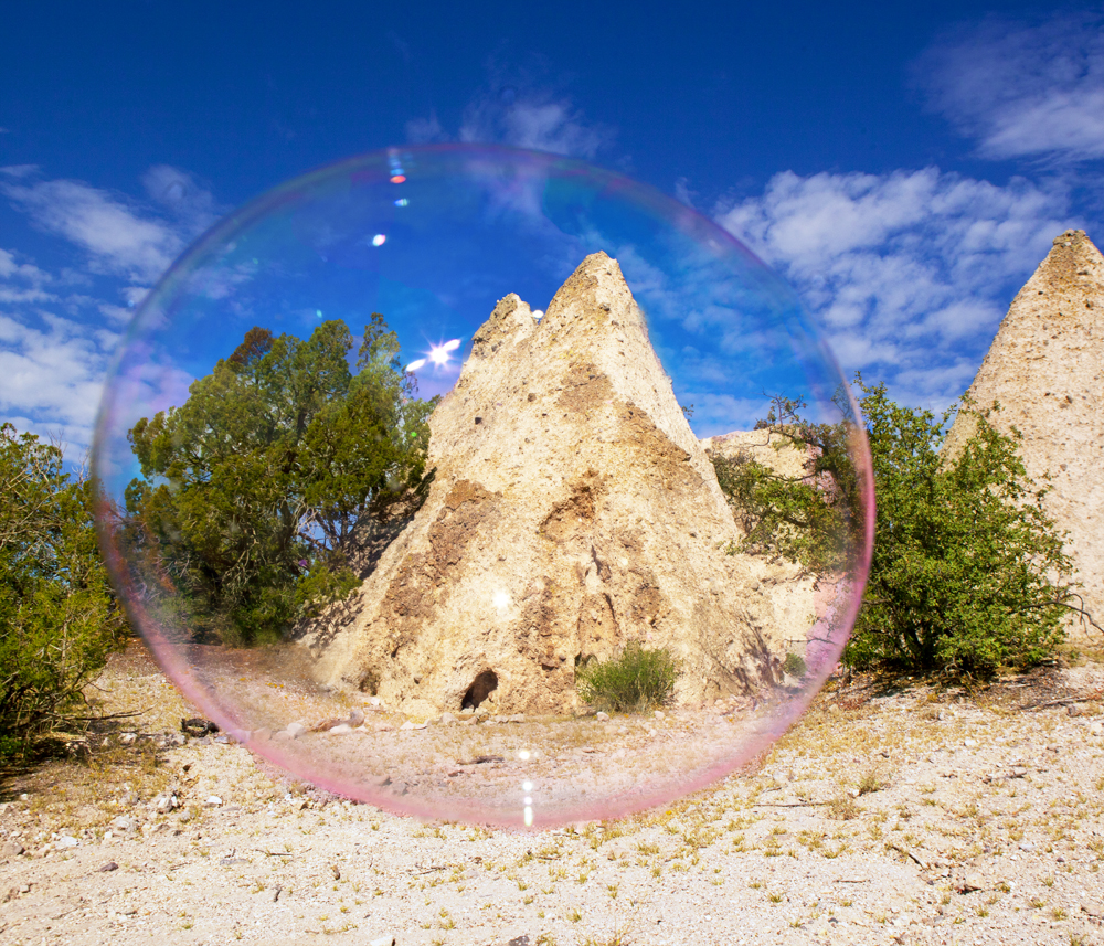 World Upside Down, Tent Rocks 1