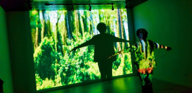 I Am Climate Change , Video Installation