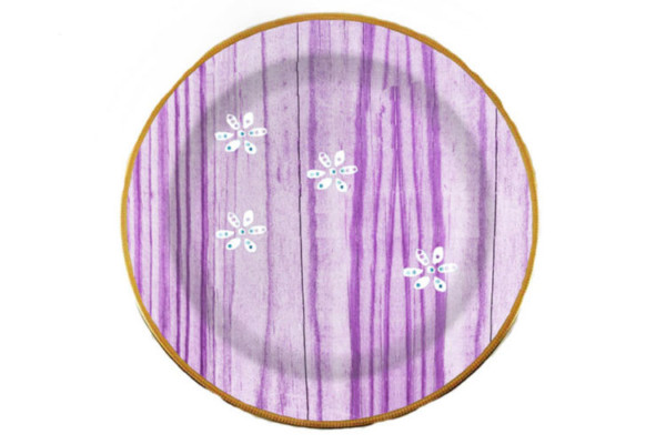Lavender Plate