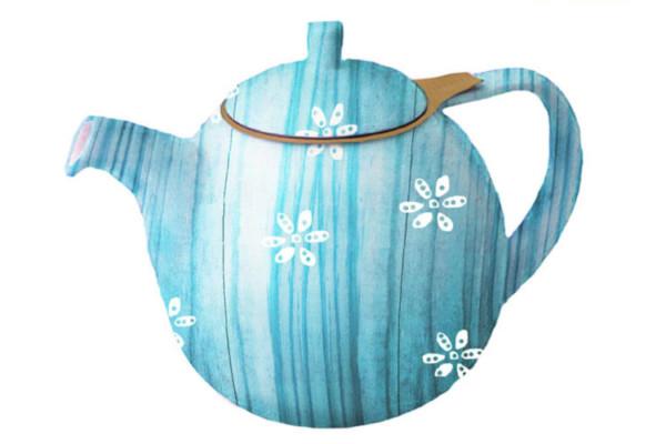 Tea Kettle Turquoise