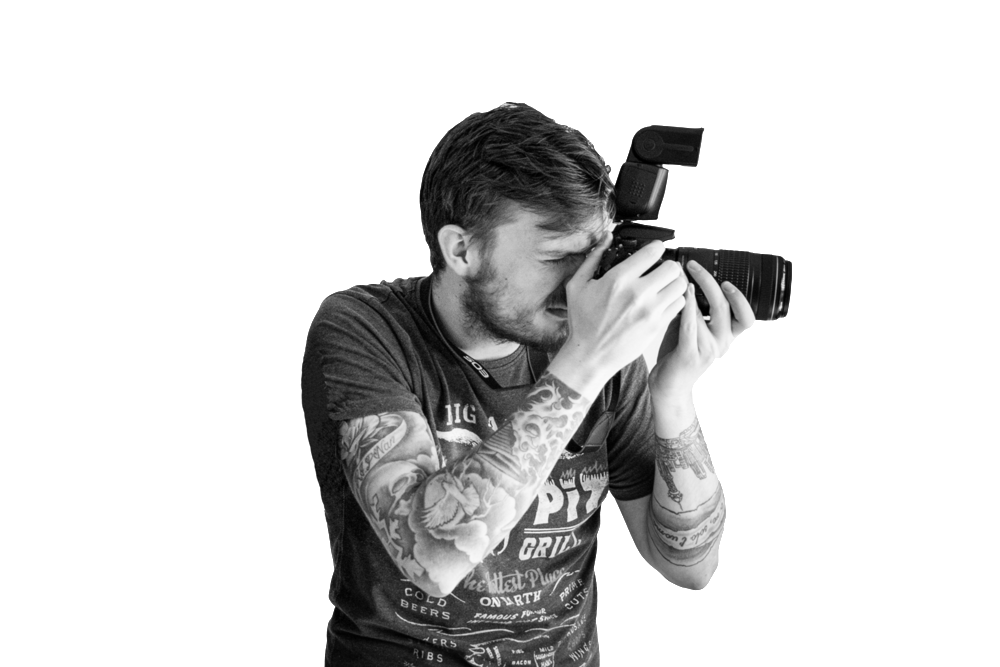 Dan - Dan has been doing photography for 5 years and he really loves to capture the candid, relaxed shots. At the same time he prides his work on the unique posed shots, often saying that the best photograph is from the most awkward angles. You give him a roof, he'll climb it, you give him a river, he'll get in it!