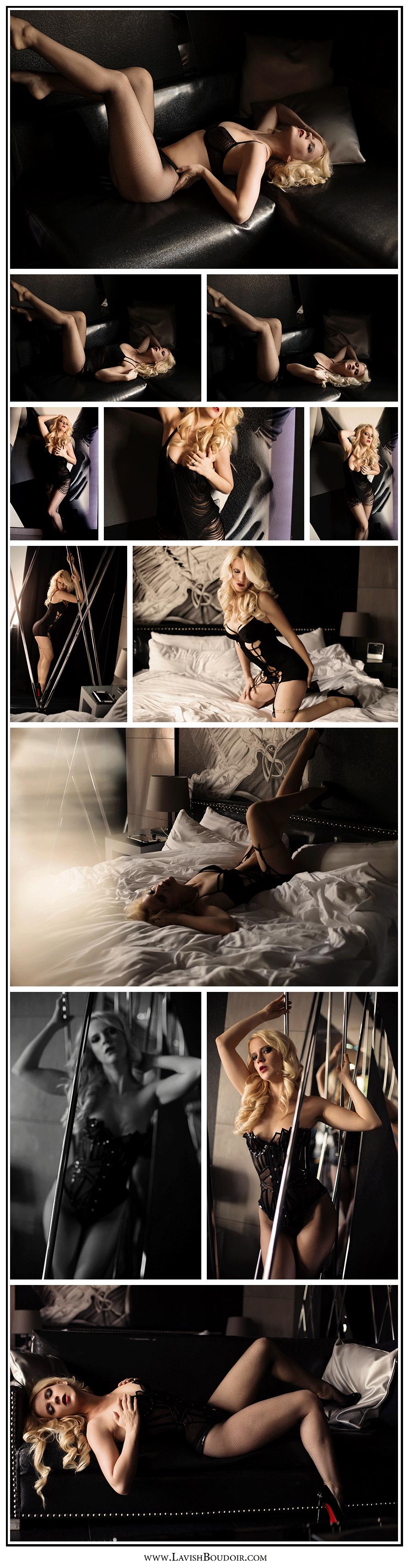 sexy vegas boudoir