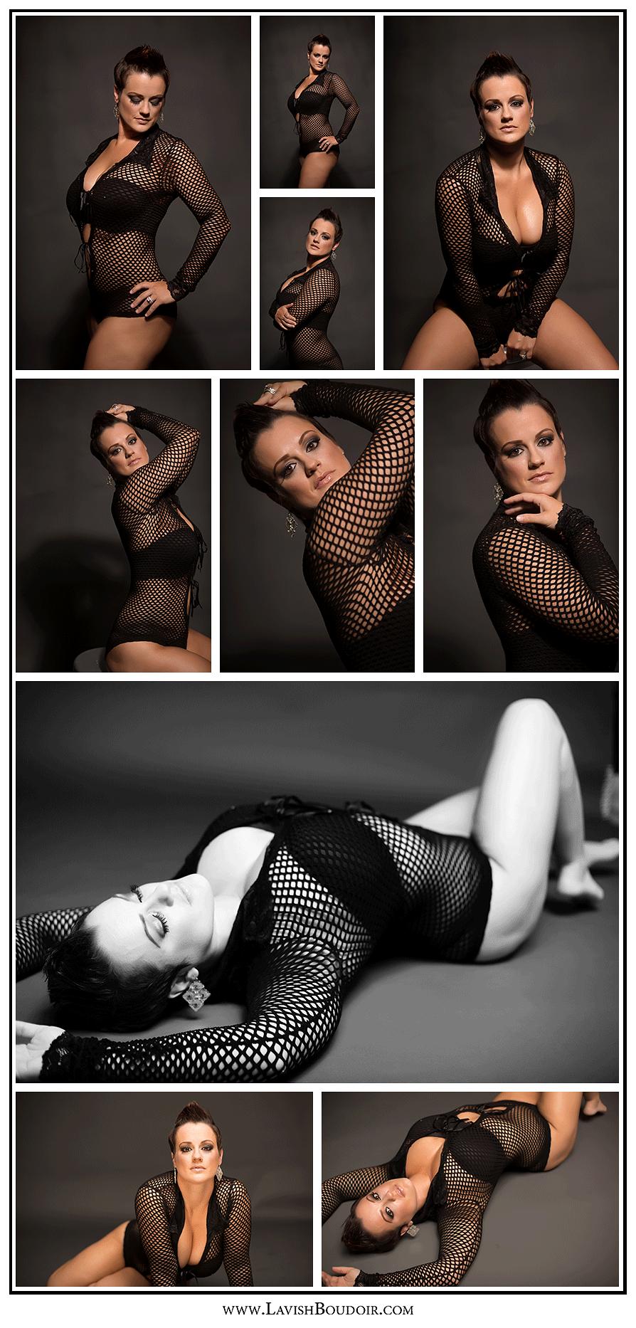 Copyright Leslie Cersovski @ Lavish Boudoir www.LavishBoudoir... - Valdosta - Georgia - all rights reserved fishnet, model, badass
