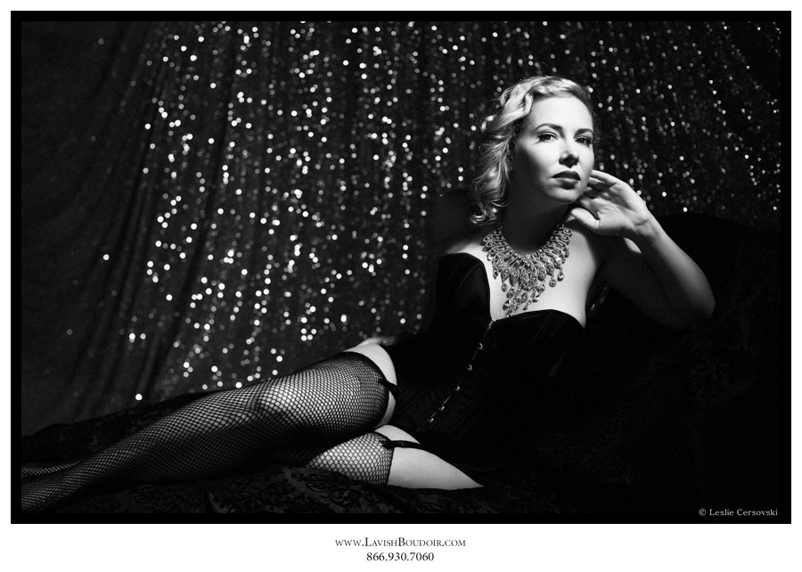 glitter boudoir hollywood