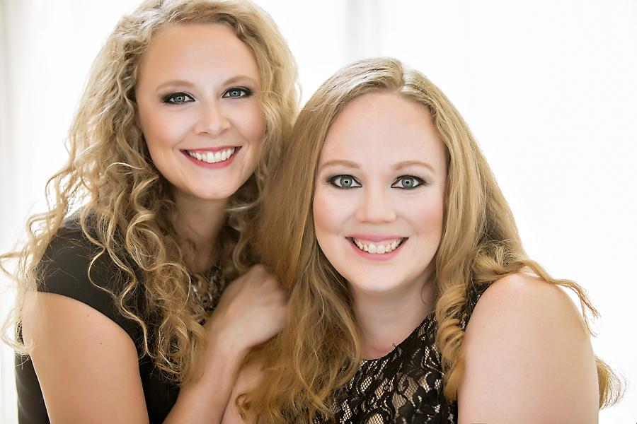 sisters beauty shoot albuquerque - lavish boudoir