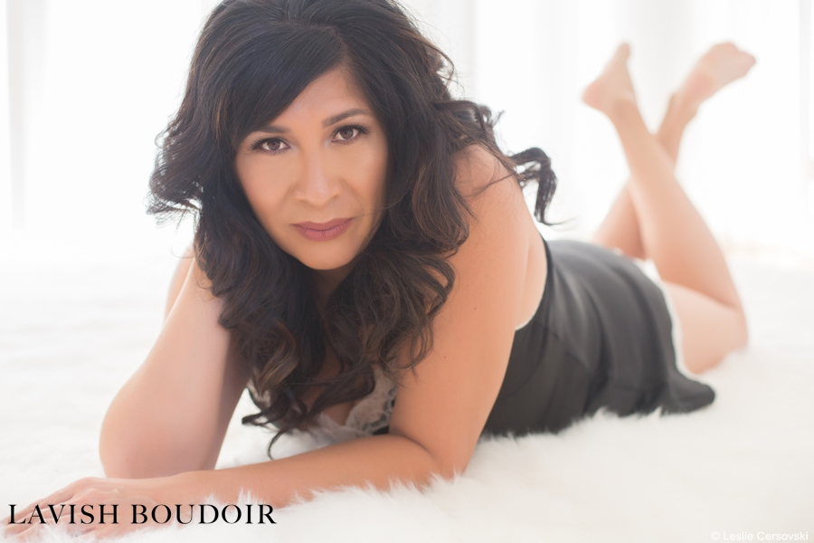 Glamour Portrait by Leslie Cersovski at Lavish Boudoir Albuquerque, New Mexico - http://www.LavishBoudoir.com