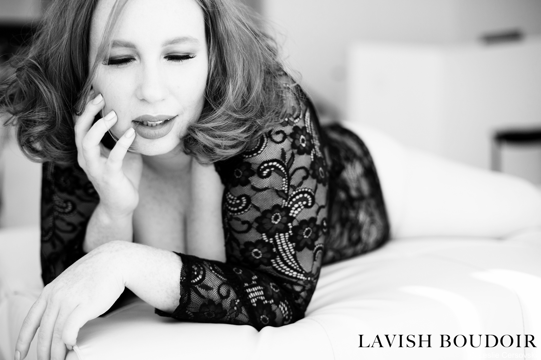 Photo by Leslie Cersovski at Lavish Boudoir - Albuquerque, New Mexico - www.LavishBoudoir.com