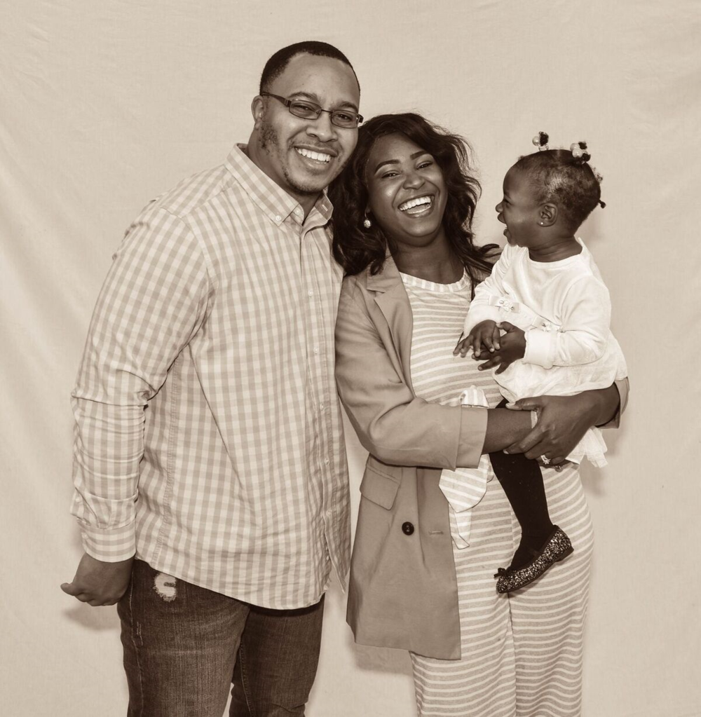 Meet the Craytons - Family is important to me. My first place to serve is my family and I am thankful for every chance I get to be a wife and a mom. Every day I am closer to my dream, it is because I am surrounded and supported by a family that cheers me on. Marrell is constantly pushing me to be the best version of myself, he selflessly continues to sacrifice time and other resources so I can live my dream. He tells me he is my number one fan. Truth is, I am his number one fan. I am glad I get to do life with him and our daughter, Alivia-Joi. So, if you ever wonder how I am able to live my dream, boldly and fiercely, it is because I have God and this family that believes in my dream. We are not a perfect family, but we are intentional in choosing to live our dream.