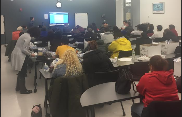 Training for the Westchester County CoC Unsheltered Point-In-Time Count.  January 24th, 2019