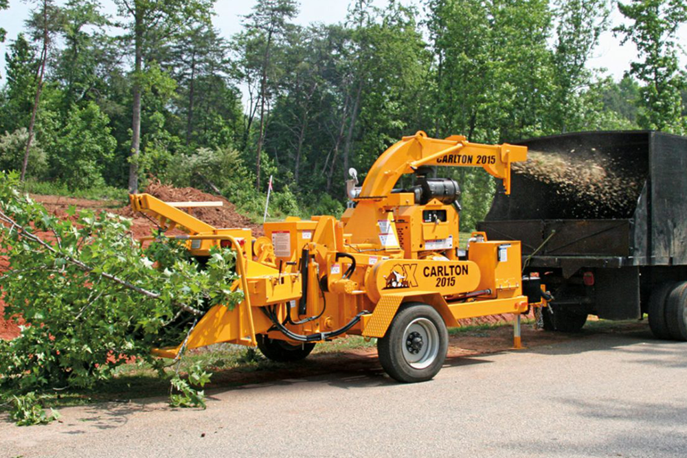 Chipper Service - From tree to mulch, in minutes.