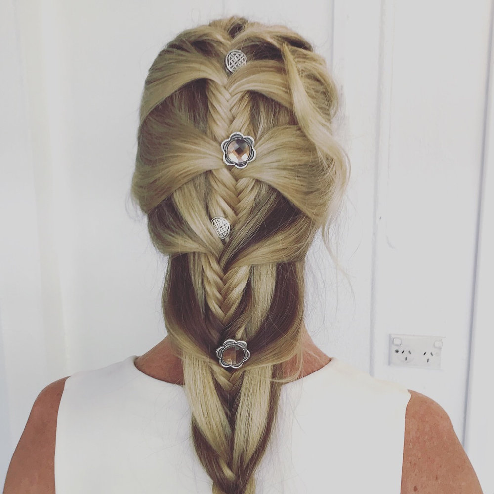 BRIDES AND WEDDINGS - Custom bridal and special occasion up-styles and braids, for you and your special guests in Port Douglas!
