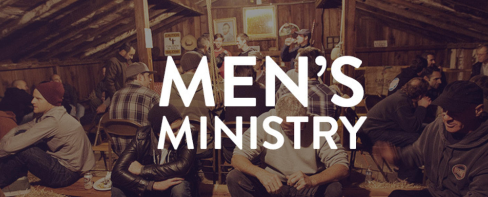 - The Mens Ministry of Saint James is a growing group of men committed to discipleship, accountability, and leadership. We hope you'll consider joining a men's small group if you're not already involved in one. We have several options for joining groups and we're always looking to expand to more.